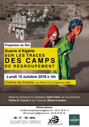 2018 10 15 flyer projection camps de regroupement
