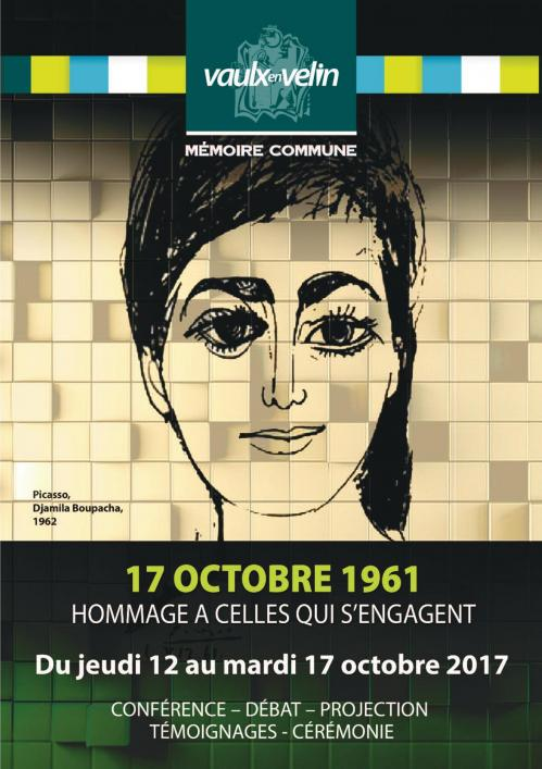 Flyer 17 octobre 1961