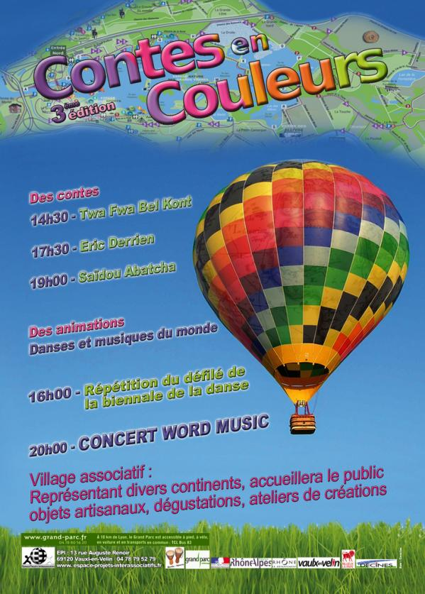 Flyer contes en couleurs