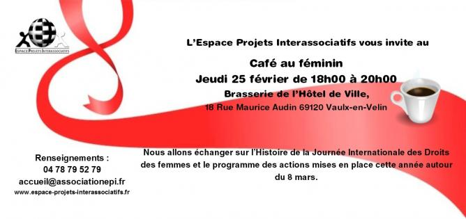 Invitation dl cafe au feminin